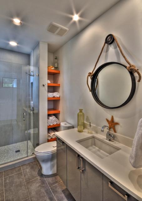 Ethridge Residence contemporary-bathroom
