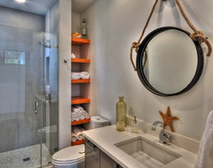Ethridge Residence contemporary bathroom