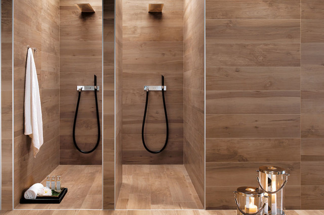 Etic Collection - Wood Inspired Porcelain Tiles - Contemporary