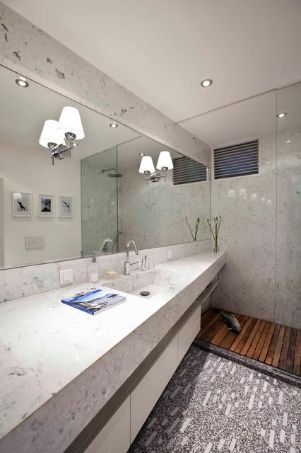 ETILER APARTMENT contemporary-bathroom