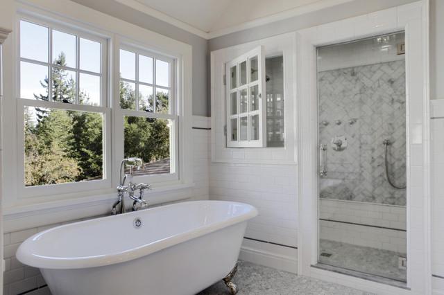 Euclid ave atherton traditional bathroom san for Bathroom design san francisco