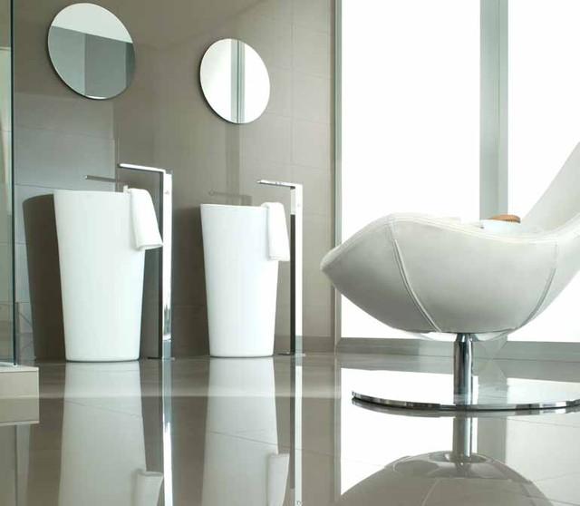 Eupean bathroom style contemporary-bathroom