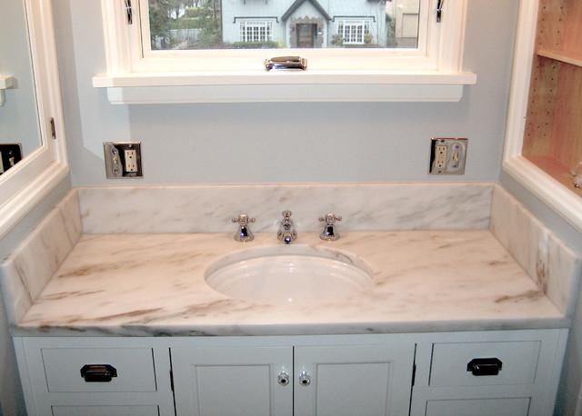 Eureka Calacatta Marble traditional bathroom. Eureka Calacatta Marble   Traditional   Bathroom   Portland   by