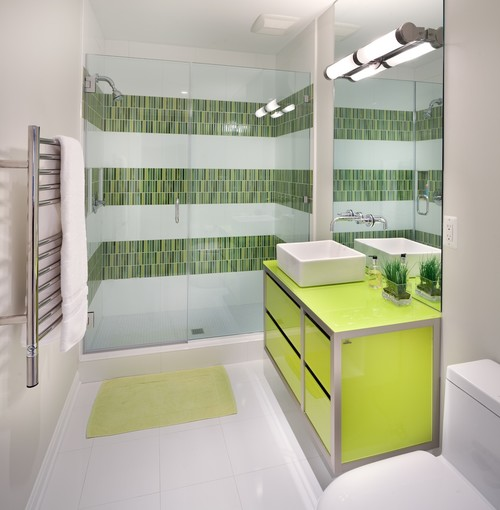Bathroom Ideas Green And White 8 good reasons why you should paint everything lime green (photos