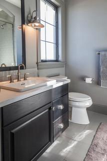 European Industrial Industrial Bathroom Denver By Emily Cathcart Designs