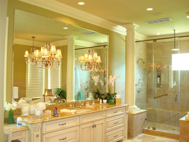 European style master bathroom for European style bathroom