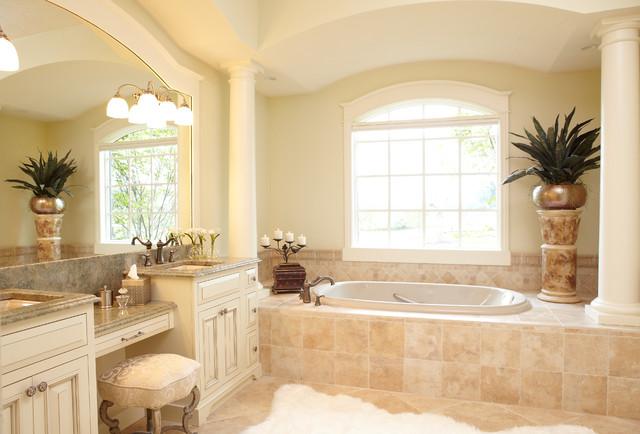 European style new home traditional bathroom grand rapids by home life interiors inc European bathroom design gallery