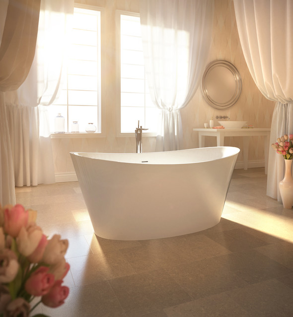 EVANESCENCE Oval 6636 Bathtub by BainUltra - Contemporary ...