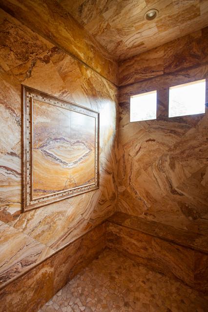 Everett Custom Homes rustic-bathroom