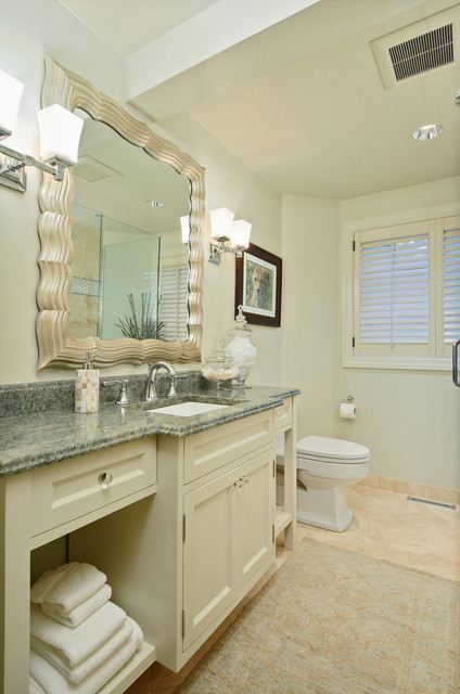 Evergreen Point Residence traditional bathroom