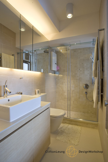 Ewan Court A Natural Timeless Home Design Contemporary Bathroom Hong Kong By Clifton