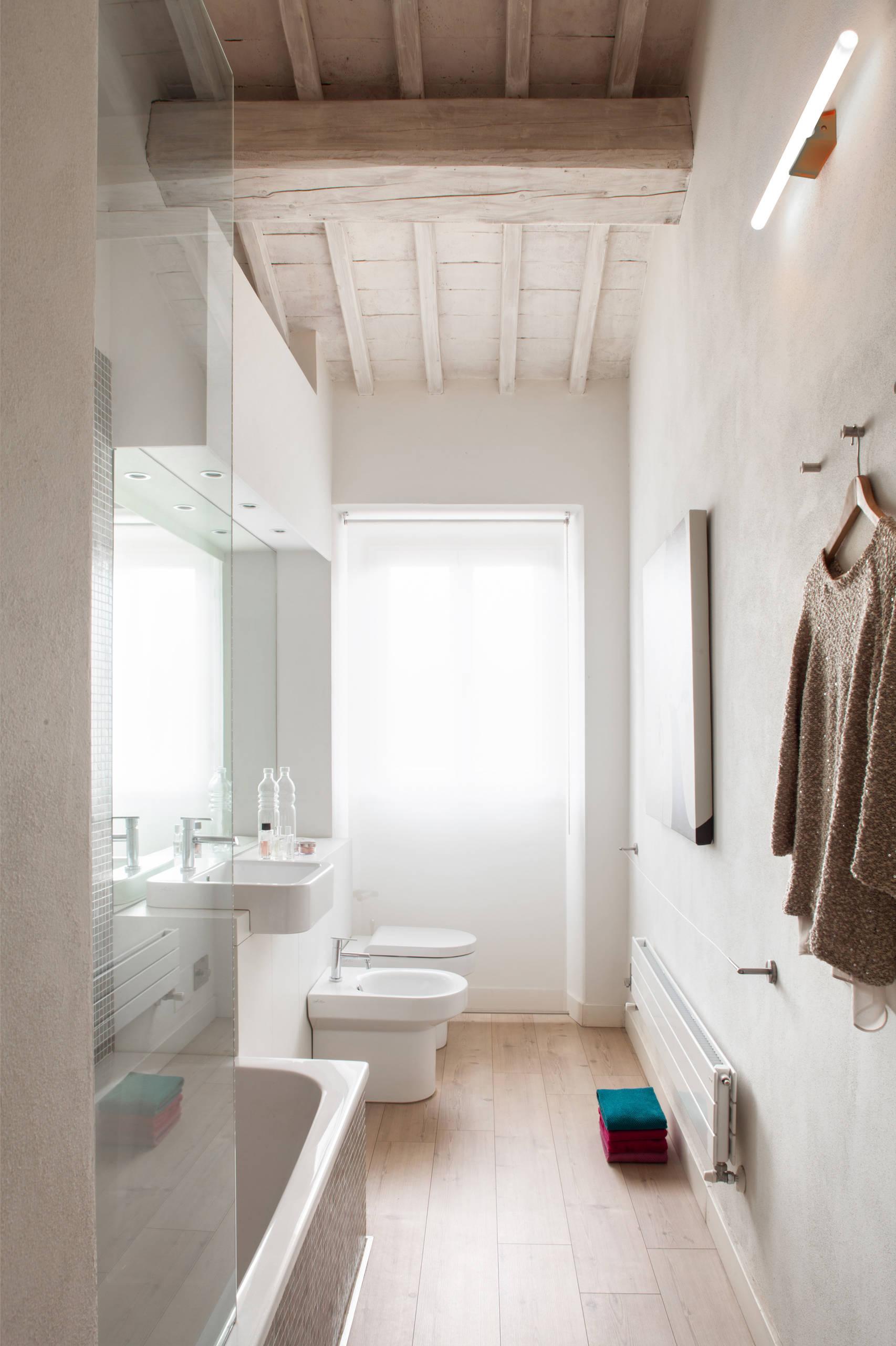 Long Narrow Bathroom  Houzz