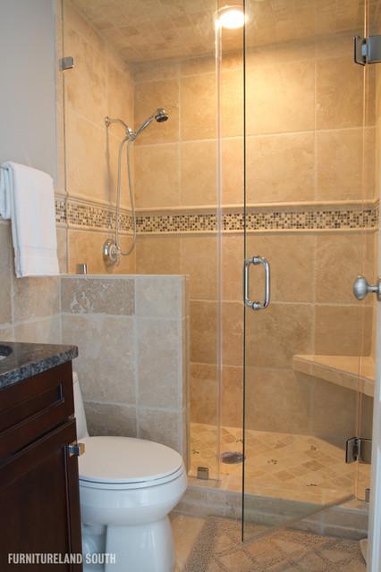 Executive Penthouse Apartment traditional-bathroom