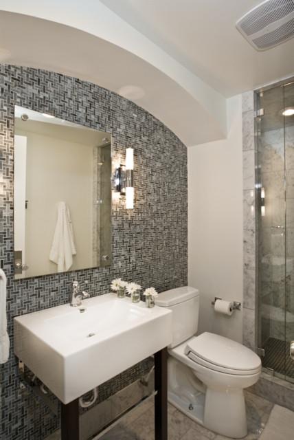 Exercise bath douglas contemporary bathroom salt for Bath remodel salt lake city