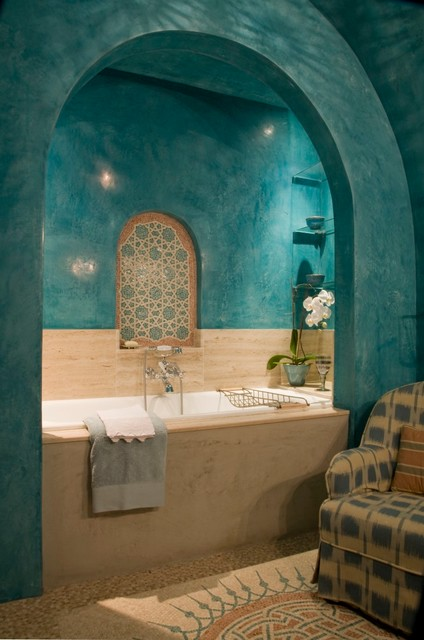 Exotic Mosaic Bathrooms. - Mediterranean - Bathroom - London - by ...