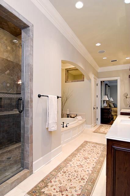 Exquisite Master Bath traditional-bathroom