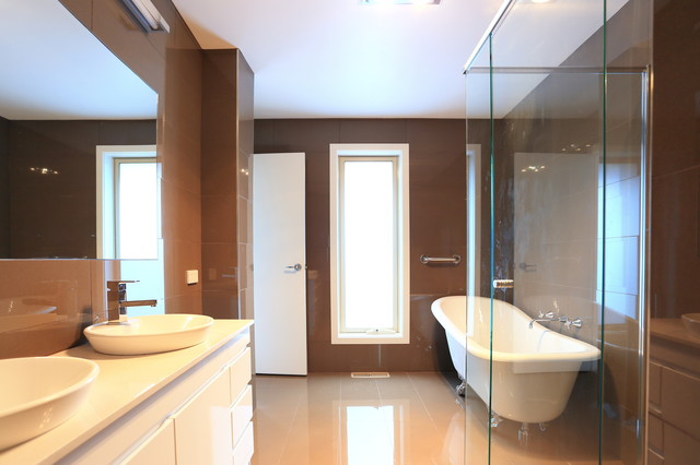 Extension berwick modern bathroom melbourne by for Bathrooms r us melbourne