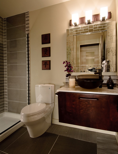 Extreme Makeover Eclectic Bathroom Seattle By