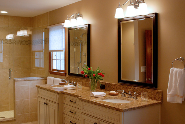 Extremely Elegant Master Bathroom Suite Traditional