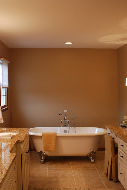Extremely Elegant Master Bathroom Suite traditional-bathroom