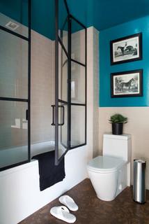 factory window - contemporary - bathroom -hayneedle