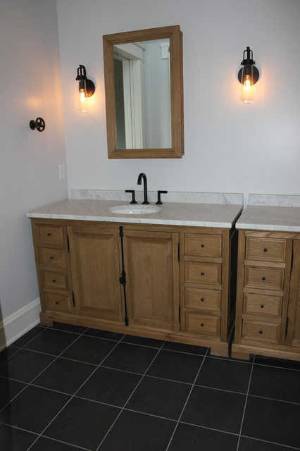 Fair Oaks Home, New Construction contemporary-bathroom