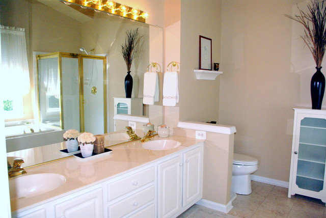 Fairfax Home Staging traditional-bathroom