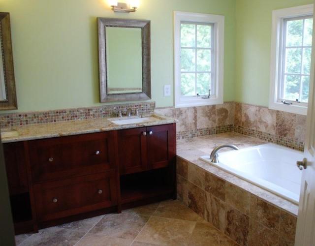 Fairfax Master Bath   Vanity  amp  Tub contemporary bathroom. Fairfax Master Bath   Vanity  amp  Tub   Contemporary   Bathroom