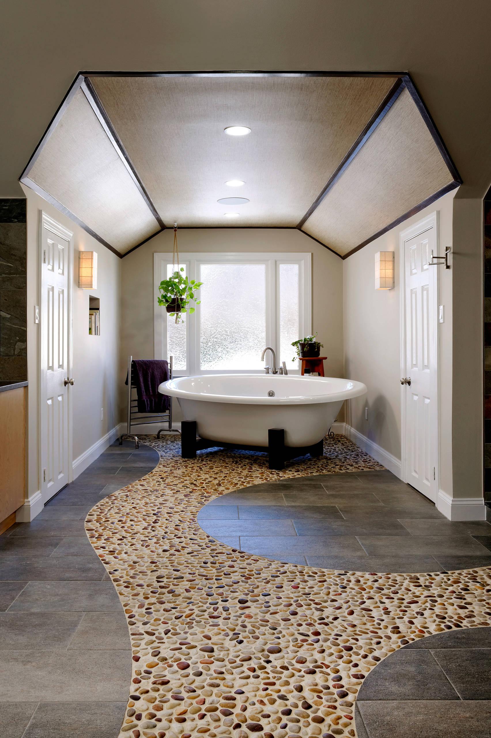 Fairfax Modern Rustic Master Bath