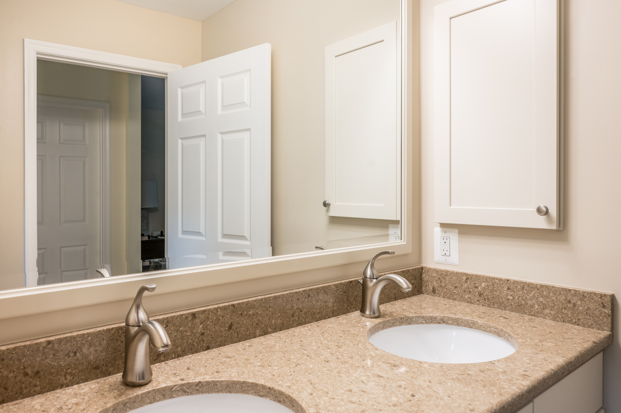 Fairfax Station Master Bath with Floating Cabinet