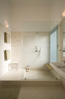 Fairfield House modern bathroom
