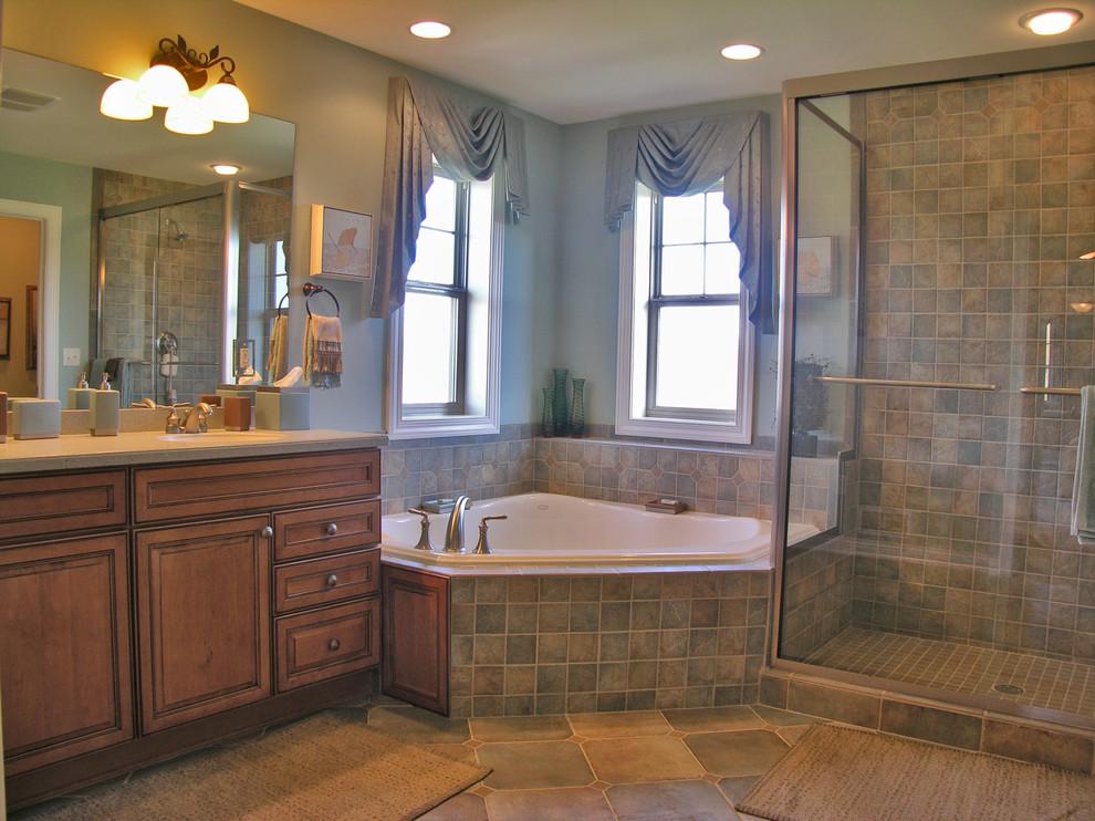 Fairfield New Construction Home - Traditional - Bathroom ...