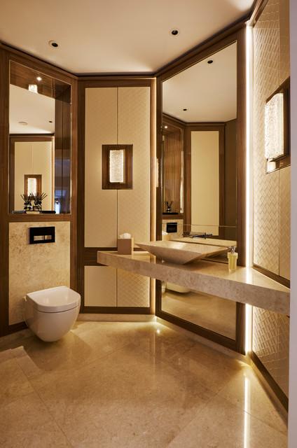 Fairlanes North London Contemporary Bathroom