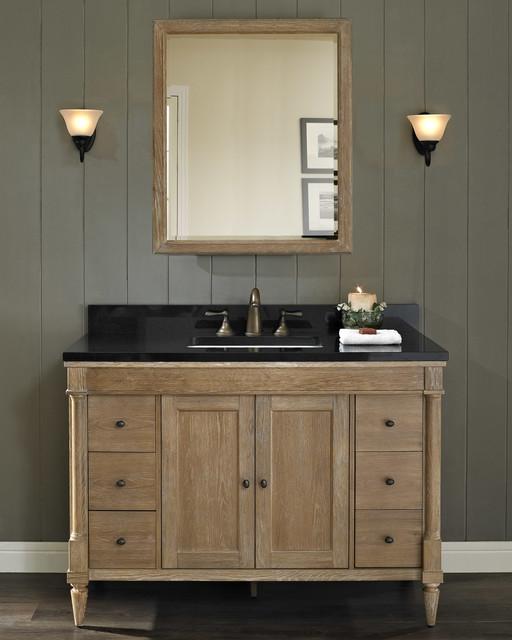 "Fairmont Rustic Chic 48"" Vanity - Modern - Bathroom - milwaukee - by Gerhard's Kitchen & Bath Store"