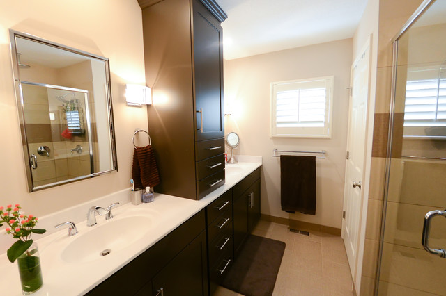 Fairway Addition and Remodel transitional-bathroom