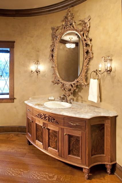 Fairytale tudor traditional bathroom minneapolis for Tudor bathroom design
