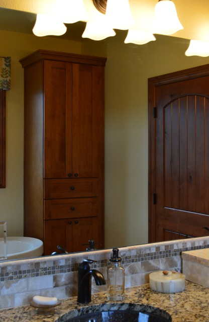 Fall Haven - craftsman - bathroom - denver - by Castle Kitchens