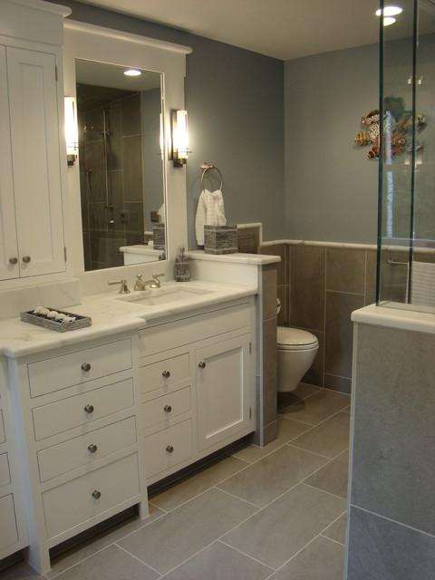 Falmouth master bath remodel traditional bathroom for Portland baths