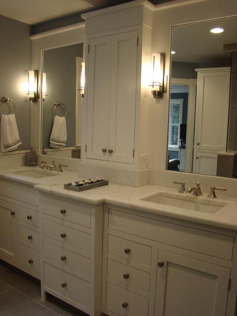 Falmouth master bath remodel traditional bathroom for Bathroom remodel portland