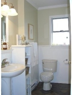 Family  Bathroom transitional-bathroom