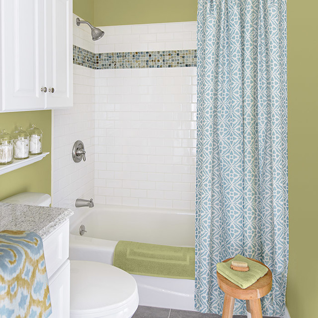Family bathroom transitional bathroom by lowe 39 s home - Lowe s home improvement bathroom tile ...