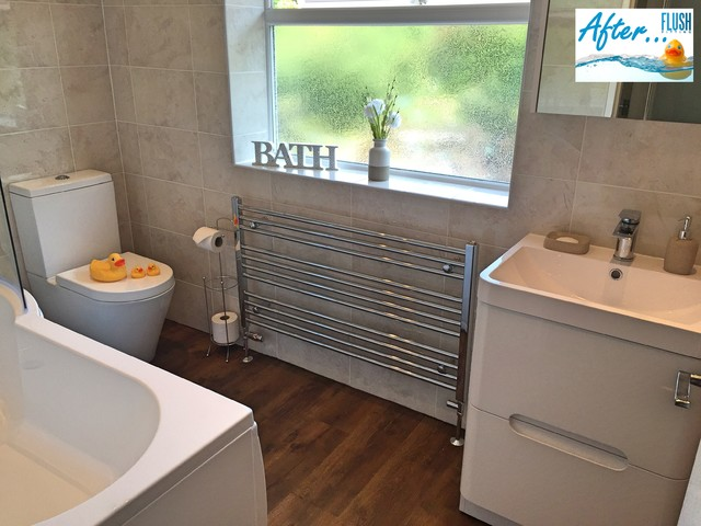 Family Bathroom Northfield Contemporary Bathroom West Midlands By Flush Fitting Ltd