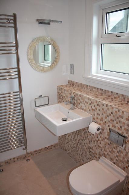 Family bathroom renovation terenure modern bathroom for Bathroom ideas dublin