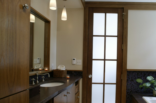 family cottage addition contemporary-bathroom