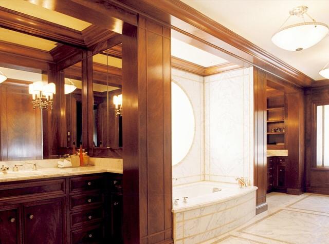 Family Residence traditional-bathroom