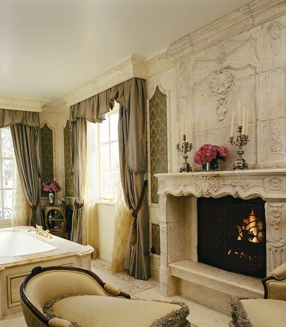 8 Luxury Loving Master Bathroom Fireplaces