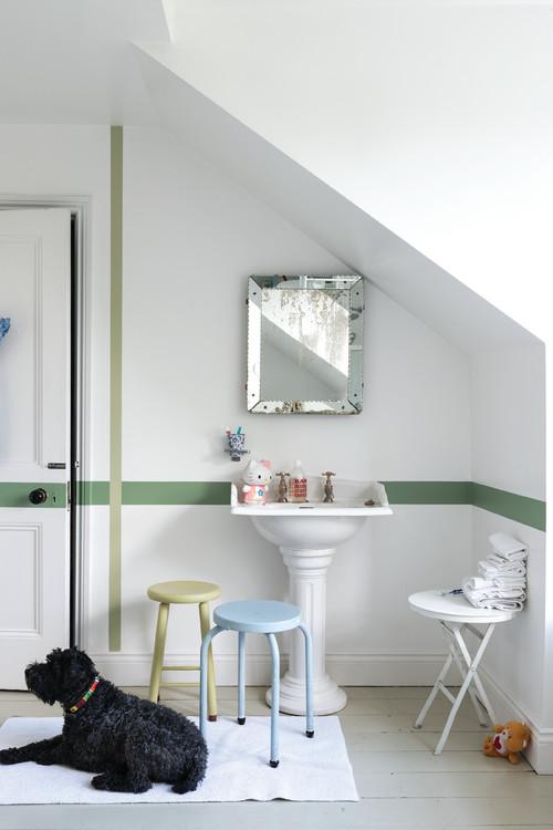 carrelage de salle de bain coups de pinceau pour coup de frais d co femme actuelle. Black Bedroom Furniture Sets. Home Design Ideas