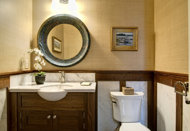 Farinelli Construction Inc eclectic bathroom