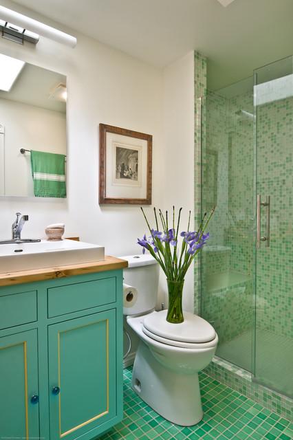 Farm House remodel & addition farmhouse-bathroom