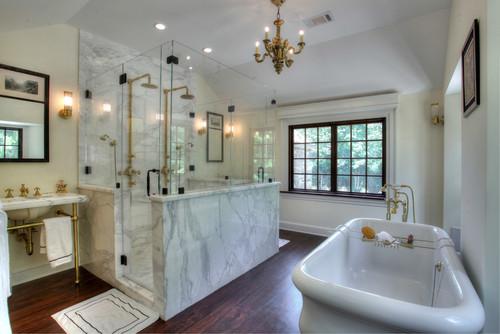 old world charm bathrooms
